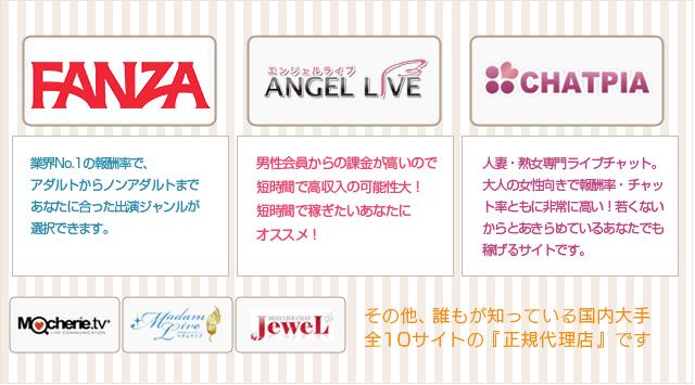 提携ライブチャットサイト公開!